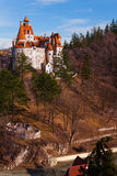 Beautiful Bran Castle in Wallachia, Romania Stock Photo