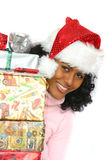Beautiful brazilian santa stock images