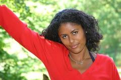 Beautiful brazilian woman. Smiling Royalty Free Stock Photos