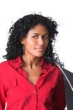 Beautiful brazilian woman Stock Images
