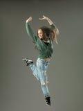 Beautiful breakdancer Stock Photo