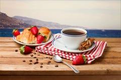 Beautiful breakfast arrangement Royalty Free Stock Image