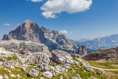 Beautiful, a breathtaking view - Dolomites, Italy Stock Image