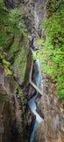 Beautiful breitachklamm ravine near oberstdorf Stock Photography