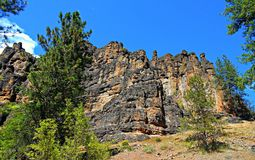 Beautiful Brennan. Brennan Palisades - Ochoco Mountains - near Prineville, OR stock photography