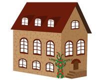 Beautiful brick house Stock Photo