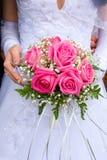 Beautiful bridal bouquet Stock Image