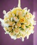 Beautiful bridal bouquet Stock Photos