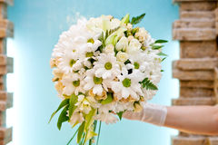 Beautiful bridal bouquet of flowers Stock Images