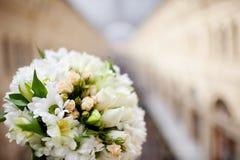 Beautiful bridal bouquet Stock Photo