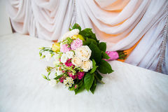 Beautiful bridal bouquet Royalty Free Stock Image