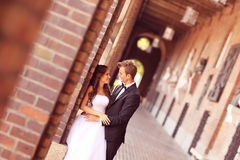 Beautiful bridal couple Royalty Free Stock Photos