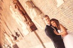 Beautiful bridal couple Royalty Free Stock Images