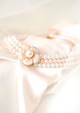 Beautiful bridal necklace Royalty Free Stock Photography