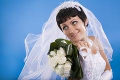 Beautiful Bridal Portraits. Stock Image