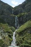 Bridal Veil Falls. Beautiful Bridal Veil Falls in Utah Stock Images