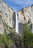 Beautiful bridal veil falls, yosemite nat park, california, usa Stock Photos
