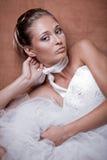 Beautiful bride Stock Images
