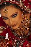 Beautiful Bride. Close up beautiful Asian Bride royalty free stock photo