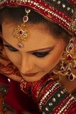 Beautiful Bride. Close up beautiful Asian Bride stock image