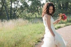 beautiful bride Стоковые Изображения RF