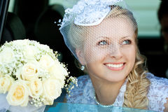 A beautiful bride Stock Photos