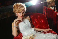 Beautiful bride the Stock Photography