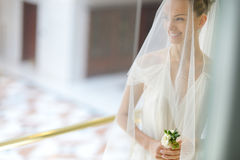The beautiful bride Stock Photography