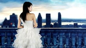A beautiful bride royalty free stock images