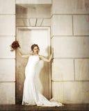 Beautiful bride. In las vegas Royalty Free Stock Photography