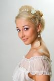 The beautiful bride royalty free stock image