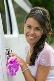 Beautiful bride close-up Stock Photo