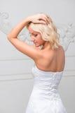 beautiful bride elegant Στοκ φωτογραφία με δικαίωμα ελεύθερης χρήσης