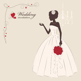 Wedding invitation. Royalty Free Stock Photography