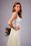 Happy beautiful bride Royalty Free Stock Photos