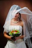 Beautiful bride portrait Royalty Free Stock Photos