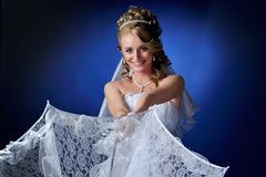 Beautiful bride portrait Royalty Free Stock Photo