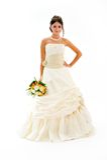 Beautiful bride portrait Stock Photo