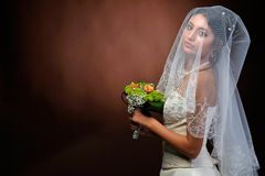 Beautiful bride portrait Royalty Free Stock Image