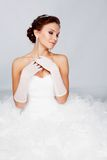 Beautiful bride portrait Royalty Free Stock Photo