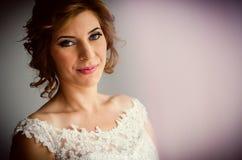 Beautiful bride portrait Royalty Free Stock Photos