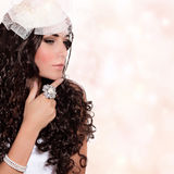 Beautiful bride portrait Stock Image