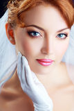 Beautiful bride portraite Royalty Free Stock Photo
