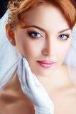 Beautiful bride portraite Royalty Free Stock Photo