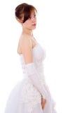 Beautiful bride posing Stock Photography