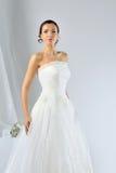 Beautiful bride posing at studio Stock Photos