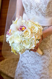 Beautiful Bride's Bouquet Royalty Free Stock Photography