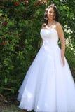Beautiful bride vertical royalty free stock photo
