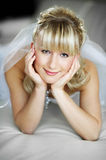 Beautiful bride in wedding day Royalty Free Stock Images