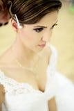 Beautiful bride on wedding day Royalty Free Stock Photo